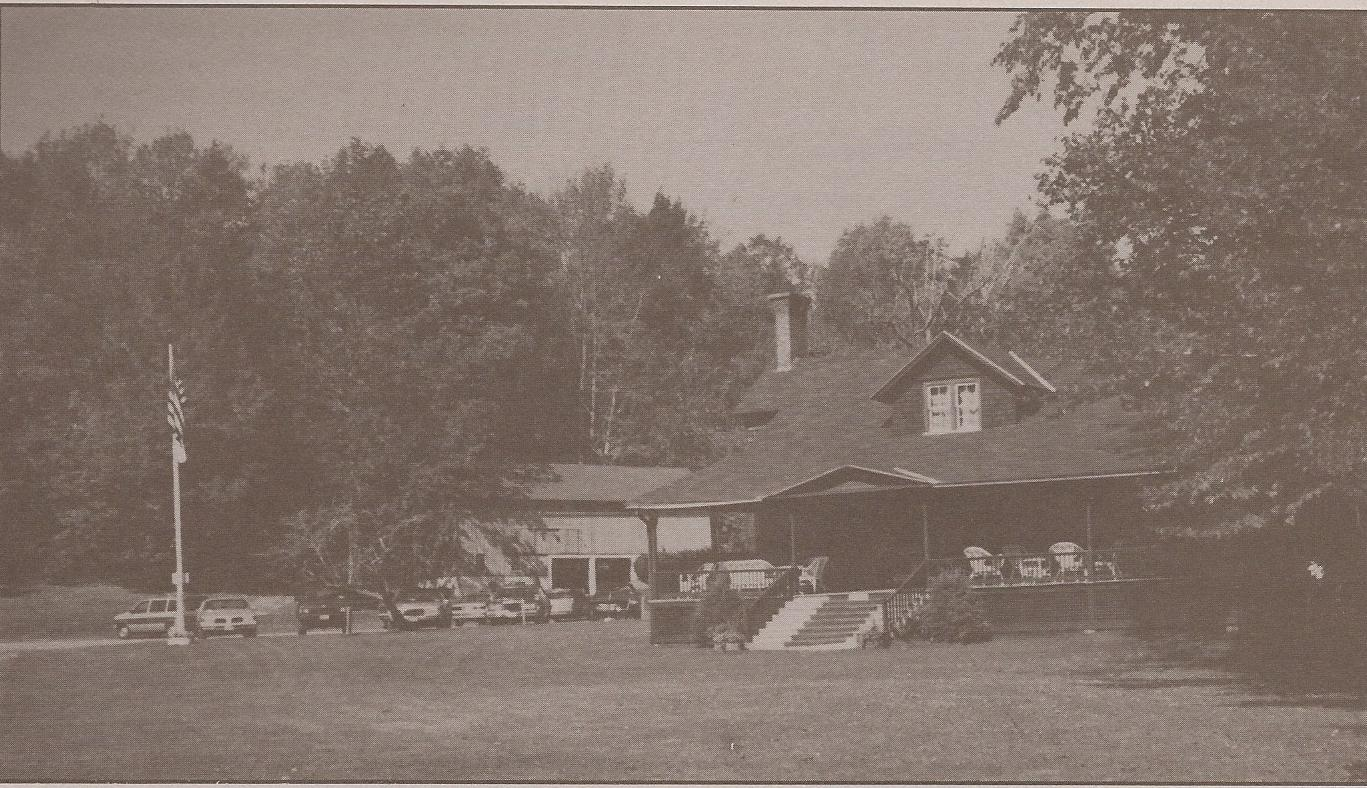 Otsego Golf Course/ Club House, 1894. One of the oldest golf courses in the country, formed on the land of Leslie Pell Clarke (Swanswick) and Henry L Wardwell (Pinehurst).